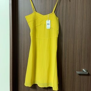Yellow dress new with tags